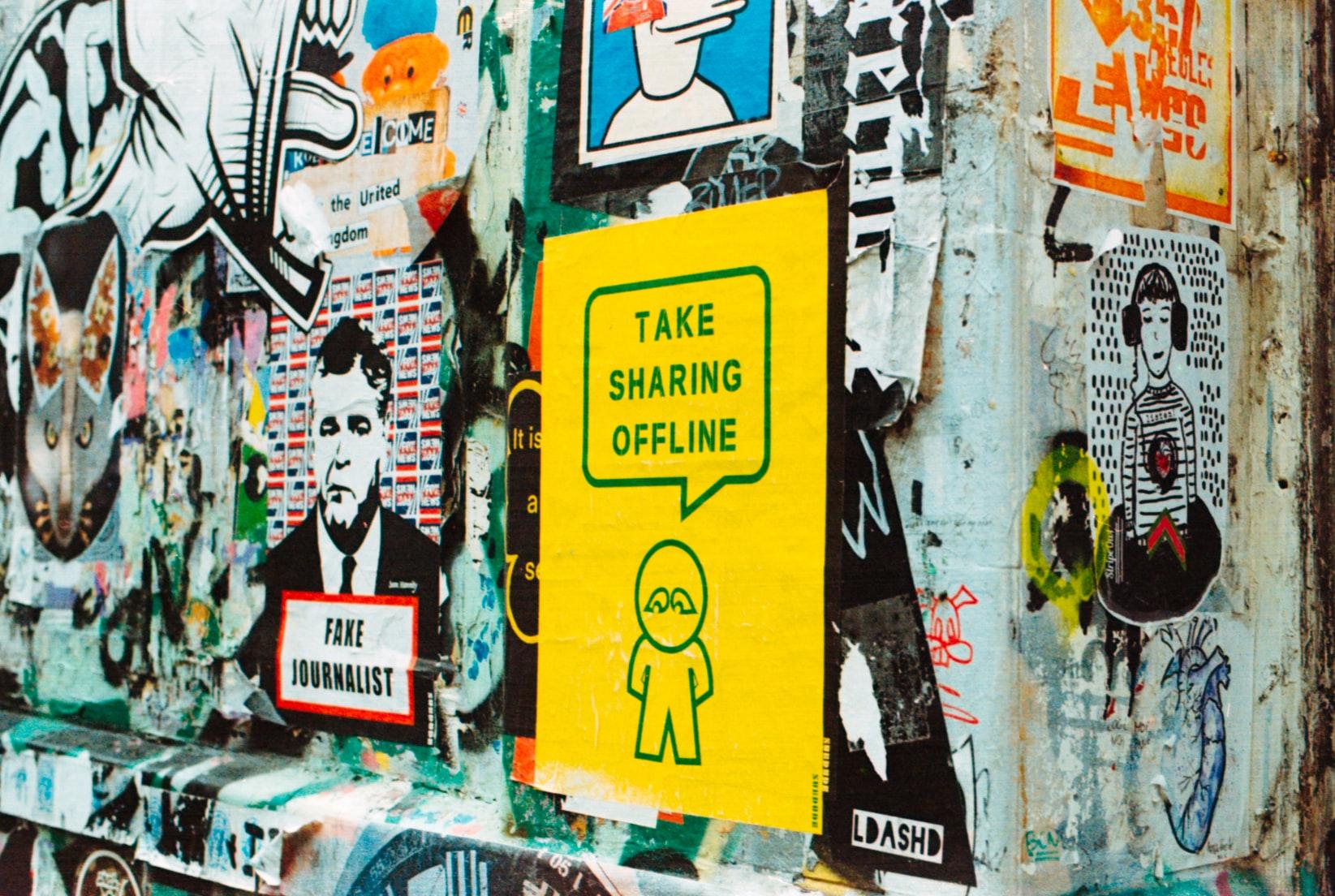 Share Online Offline